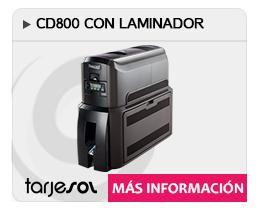 DATACARD-CD800-CON-LAMINADOR